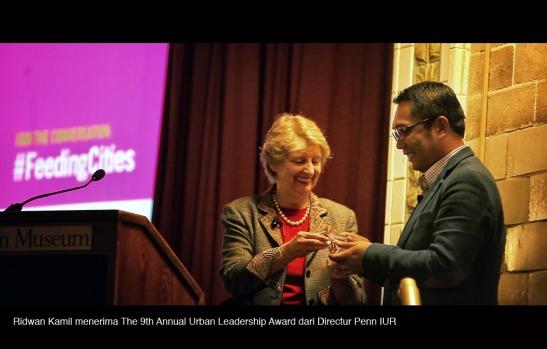 Urban Leadership Award for Ridwan Kamil